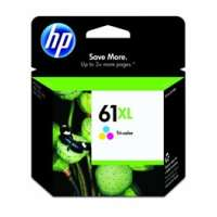 HP 61XL, CH564WN OEM ink cartridge, high yield, tri-color