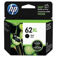 HP 62XL, C2P05AN OEM ink cartridge, high yield, black