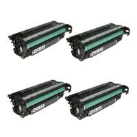 Cartridge America Compatible HP CE260X (649X) toner cartridges - 4-pack