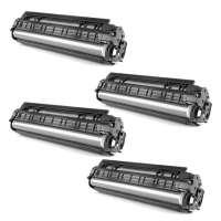 Compatible HP 656X pack of 4 toner cartridges