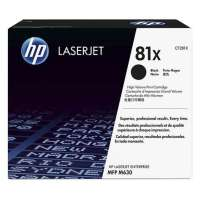 Genuine Original HP CF281X (81X) toner cartridge - high capacity (high yield) black