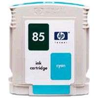 HP 85, C9425A OEM ink cartridge, cyan