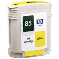 HP 85, C9427A OEM ink cartridge, yellow