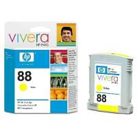 HP 88, C9388AN OEM ink cartridge, yellow