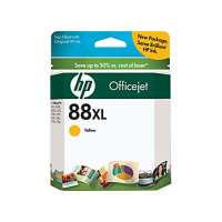 HP 88XL, C9393AN OEM ink cartridge, high yield, yellow