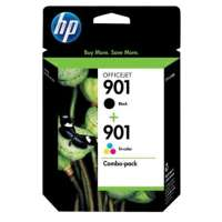 HP 901, CN069FN OEM ink cartridges, 2 pack