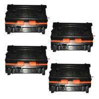 Compatible HP CE390A (90A) toner cartridges - 4-pack