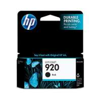 HP 920, CD971AN OEM ink cartridge, black