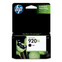 HP 920XL, CD975AN OEM ink cartridge, high yield, black