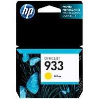 HP 933, CN060AN OEM ink cartridge, yellow