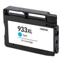 Remanufactured HP 933XL, CN054AN ink cartridge, high yield, cyan