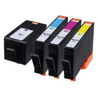 Remanufactured HP 934XL, 935XL ink cartridges, high yield, 4 pack