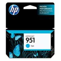 HP 951, CN050AN OEM ink cartridge, cyan