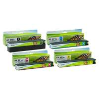 High Quality PREMIUM CARTRIDGE for the HP 970XL, 971XL ink cartridges, made in the United States, high yield, 4 pack
