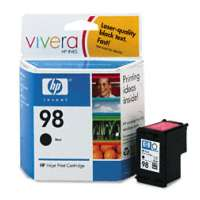 HP 98, C9364WN OEM ink cartridge, black