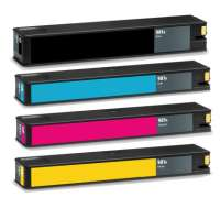 Remanufactured HP 981A ink cartridges, 4 pack