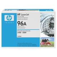 HP 96A, C4096A original toner cartridge, 5000 pages, black