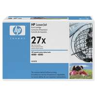 HP 27X, C4127X original toner cartridge, 10000 pages, black