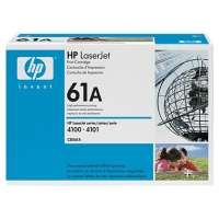 HP 61A, C8061A original toner cartridge, 6000 pages, black