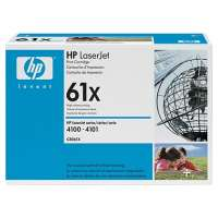 HP 61X, C8061X original toner cartridge, 10000 pages, black