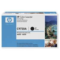 HP 641A, C9720A original toner cartridge, 9000 pages, black