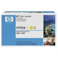 HP 641A, C9722A original toner cartridge, 8000 pages, yellow