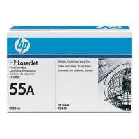 HP 55A, CE255A original toner cartridge, 6000 pages, black