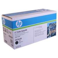 HP 646X, CE264X original toner cartridge, 17000 pages, black