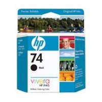 HP 74, CB335WN OEM ink cartridge, black