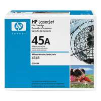 HP 45A, Q5945A original toner cartridge, 18000 pages, black