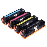 Compatible HP 308A, 309A, Q2670A, Q2671A, Q2672A, Q2673A toner cartridges, 4 pack
