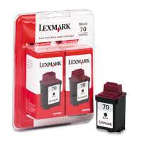 Lexmark 70, 15M1330 OEM ink cartridges, 2 pack