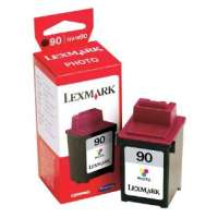 Lexmark 90, 12A1990 OEM ink cartridge, photo
