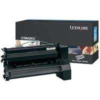 Lexmark C780A2KG original toner cartridge, 6000 pages, black