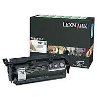 Lexmark T650A11A original toner cartridge, 7000 pages, black