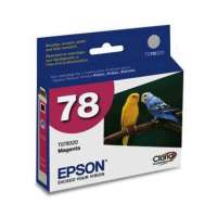 Epson 78, T078320 OEM ink cartridge, magenta