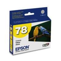 Epson 78, T078420 OEM ink cartridge, yellow