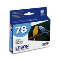 Epson 78, T078520 OEM ink cartridge, light cyan