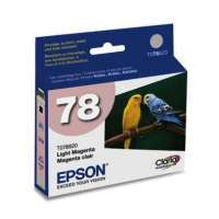 Epson 78, T078620 OEM ink cartridge, light magenta