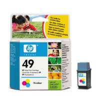 HP 49, 51649A OEM ink cartridge, tri-color