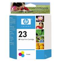 HP 23, C1823D OEM ink cartridge, tri-color