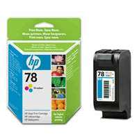 HP 78, C6578DN OEM ink cartridge, tri-color