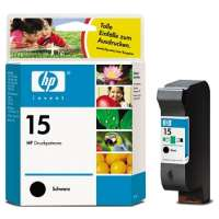 HP 15, C6615DN OEM ink cartridge, black