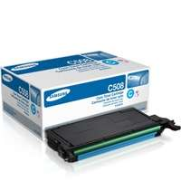 Samsung CLT-C508S original toner cartridge, 2500 pages, cyan