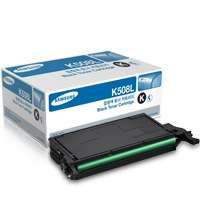 Samsung CLT-K508L original toner cartridge, 5000 pages, black