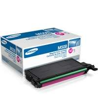 Samsung CLT-M508S original toner cartridge, 2500 pages, magenta