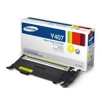 Samsung CLT-Y407S original toner cartridge, 1000 pages, yellow
