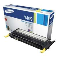 Samsung CLT-Y409S original toner cartridge, 1000 pages, yellow