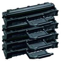 Compatible Samsung ML-2010D3 toner cartridges, 4 pack