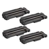 Compatible Samsung MLT-D105L toner cartridges, 4 pack